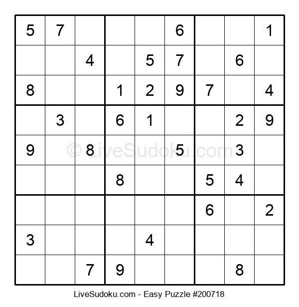 Beginners Puzzle #200718
