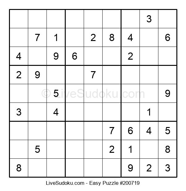 Beginners Puzzle #200719