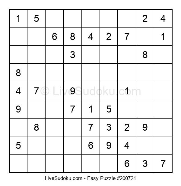 Beginners Puzzle #200721