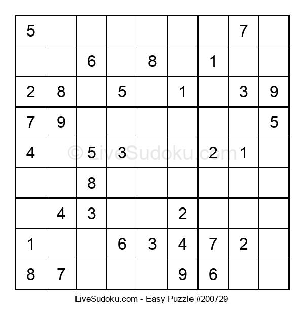 Beginners Puzzle #200729