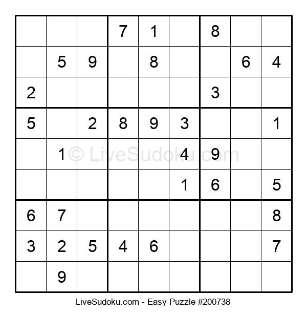 Beginners Puzzle #200738