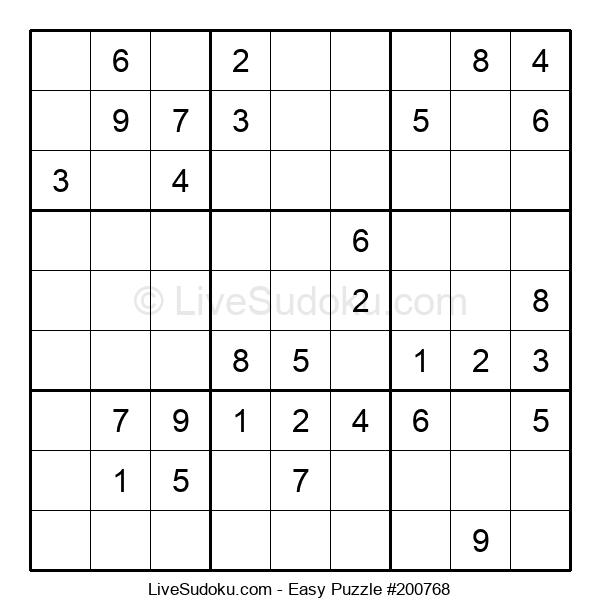 Beginners Puzzle #200768