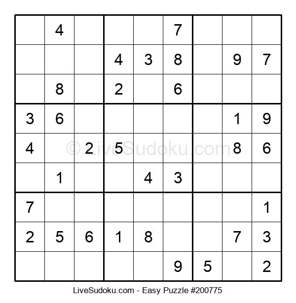 Beginners Puzzle #200775