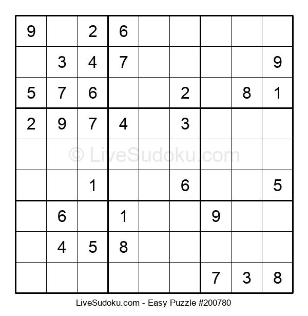Beginners Puzzle #200780