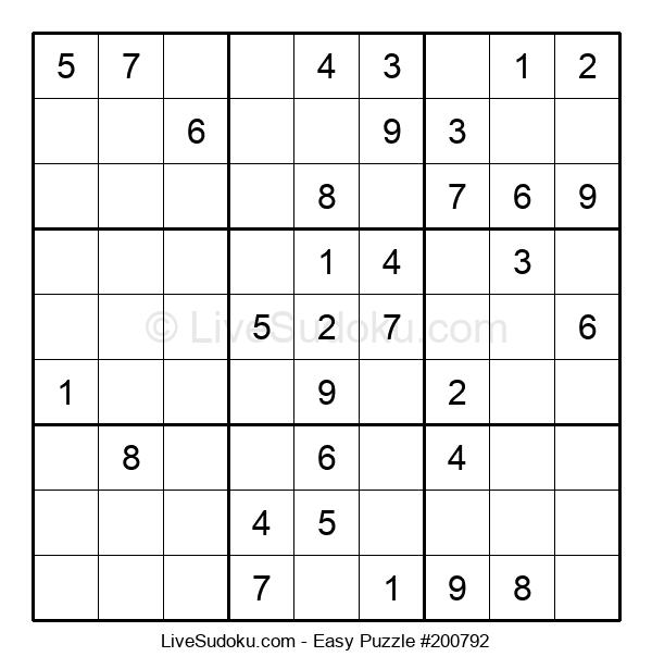 Beginners Puzzle #200792