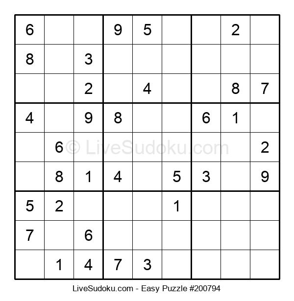 Beginners Puzzle #200794