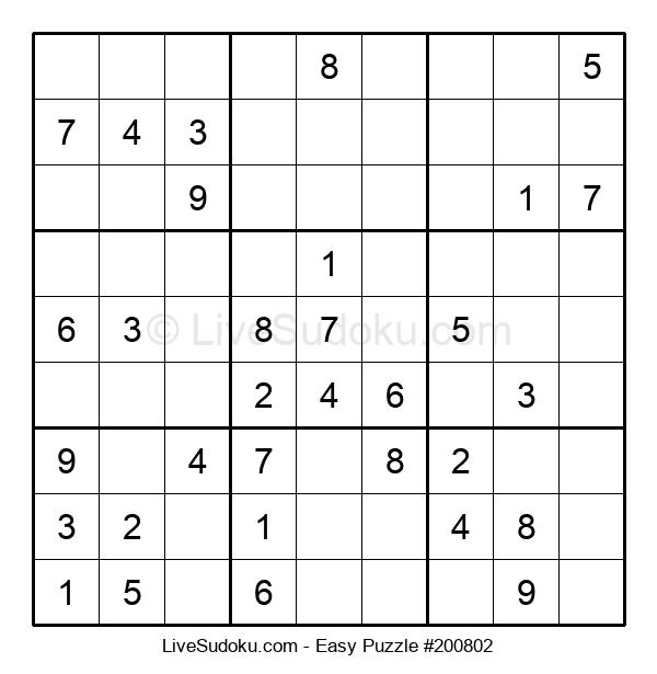 Beginners Puzzle #200802