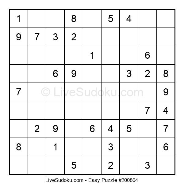 Beginners Puzzle #200804