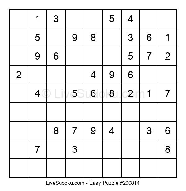 Beginners Puzzle #200814