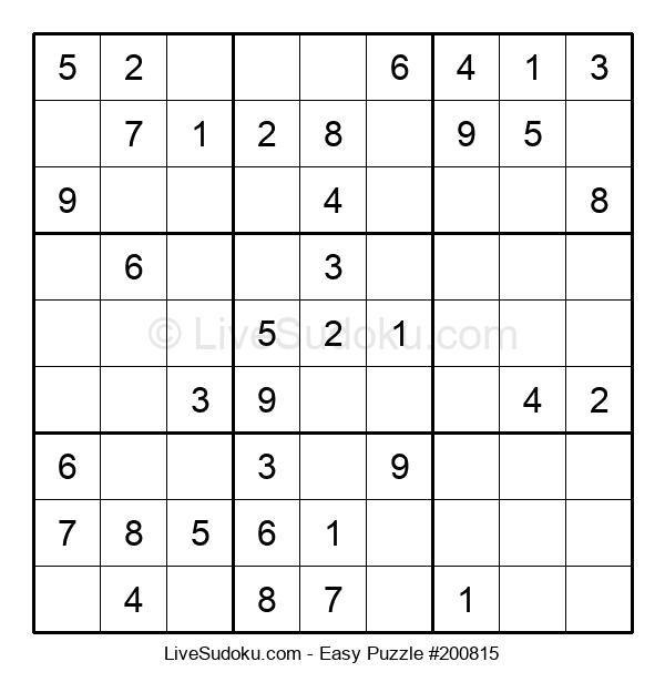 Beginners Puzzle #200815