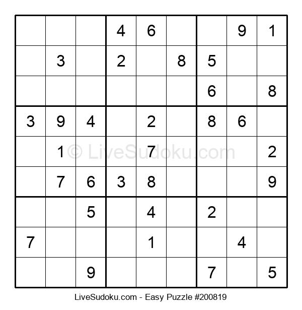 Beginners Puzzle #200819