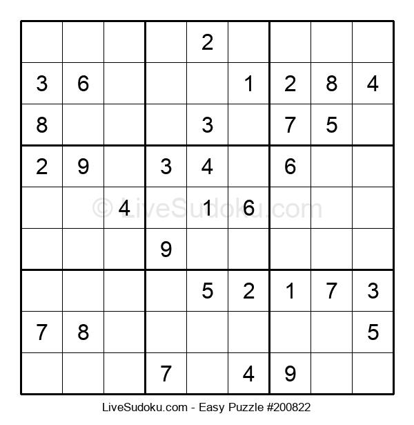 Beginners Puzzle #200822
