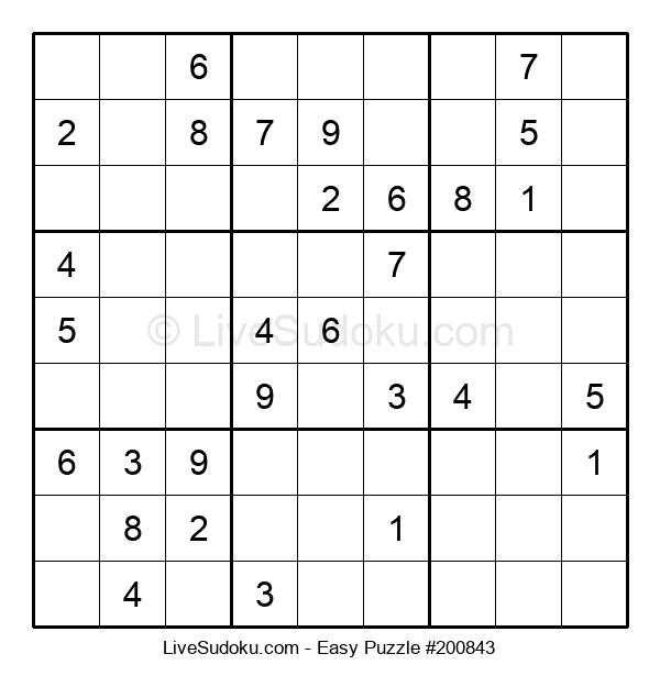 Beginners Puzzle #200843