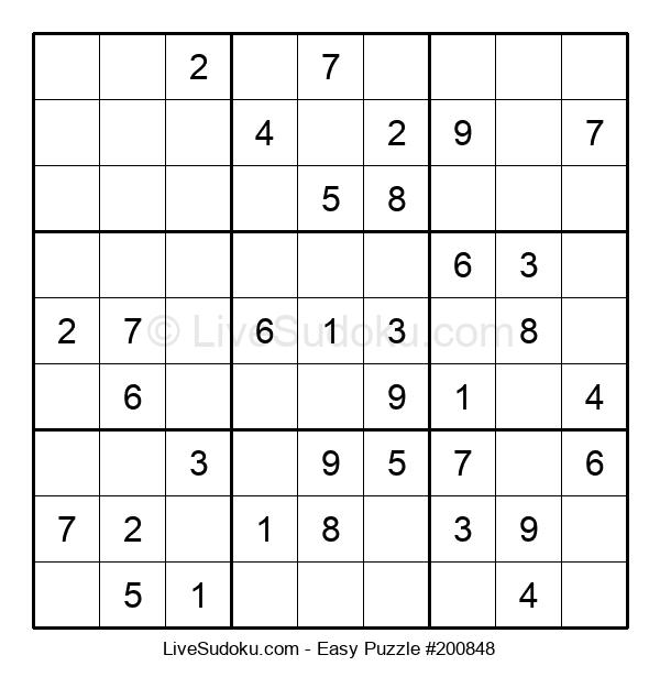 Beginners Puzzle #200848