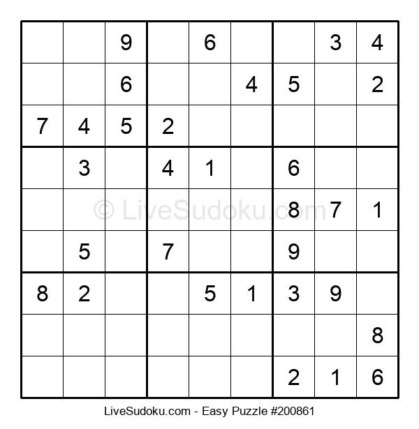 Beginners Puzzle #200861