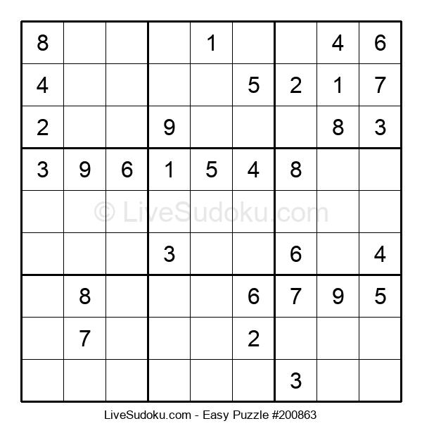 Beginners Puzzle #200863