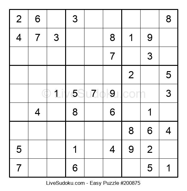 Beginners Puzzle #200875