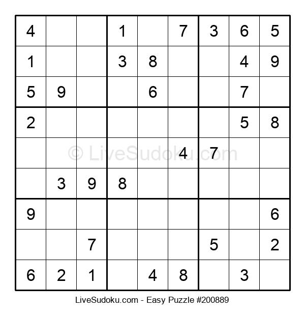 Beginners Puzzle #200889
