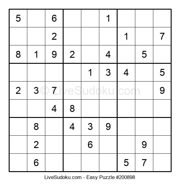 Beginners Puzzle #200898