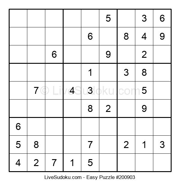 Beginners Puzzle #200903