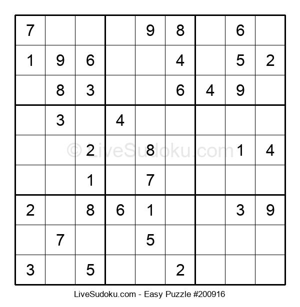 Beginners Puzzle #200916