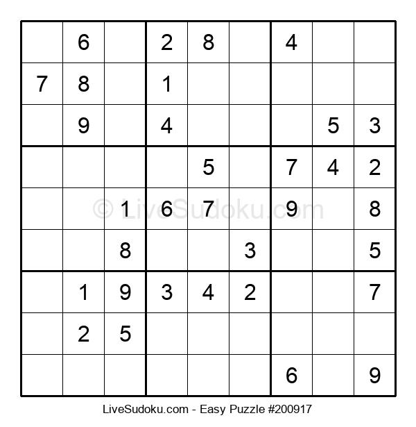 Beginners Puzzle #200917