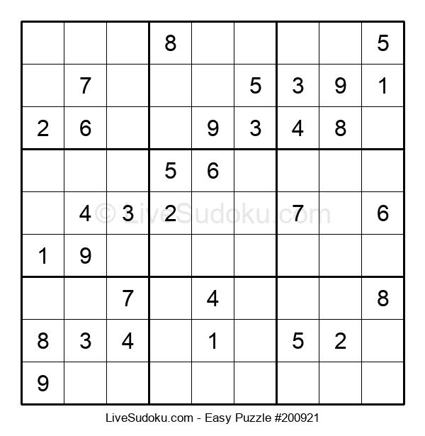 Beginners Puzzle #200921