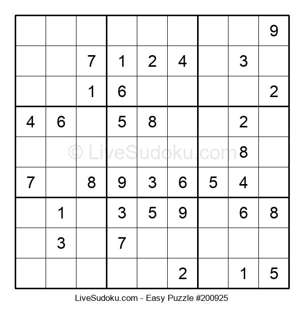 Beginners Puzzle #200925