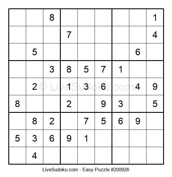 Beginners Puzzle #200926