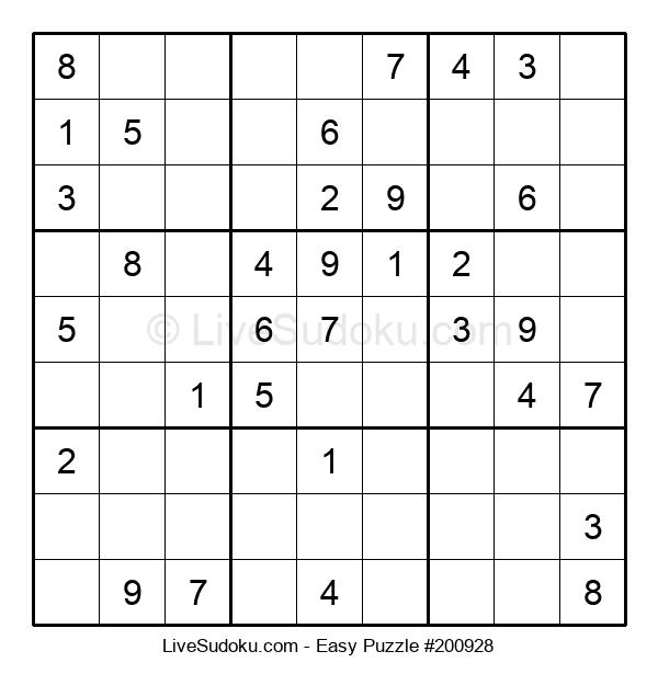 Beginners Puzzle #200928