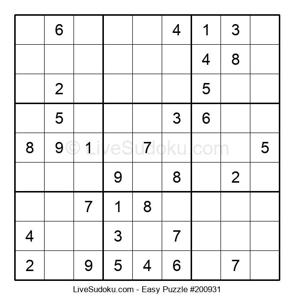 Beginners Puzzle #200931