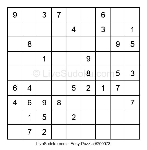 Beginners Puzzle #200973