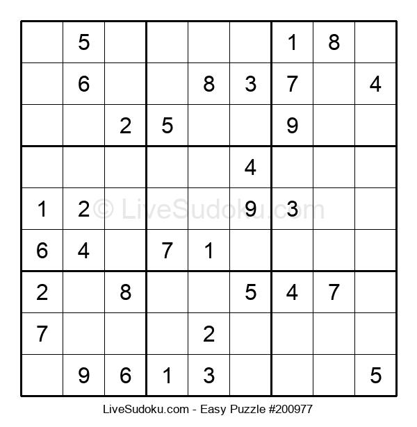 Beginners Puzzle #200977