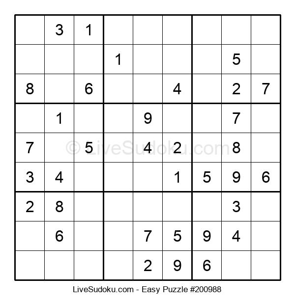 Beginners Puzzle #200988