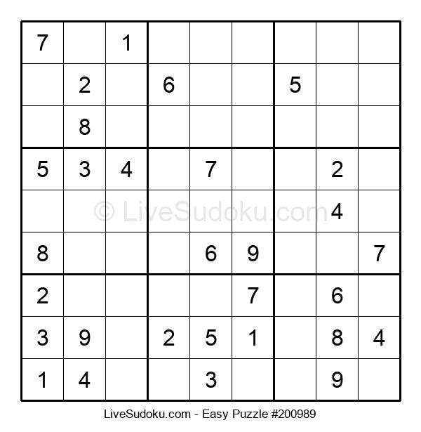 Beginners Puzzle #200989