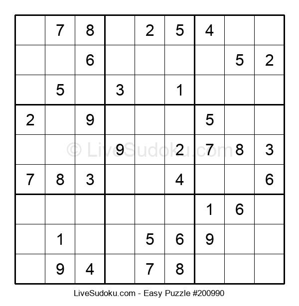 Beginners Puzzle #200990