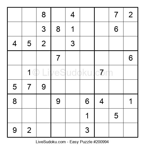 Beginners Puzzle #200994