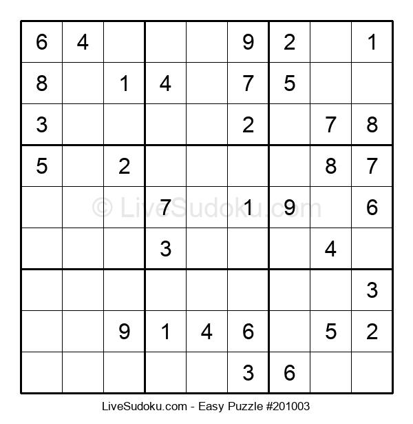 Beginners Puzzle #201003
