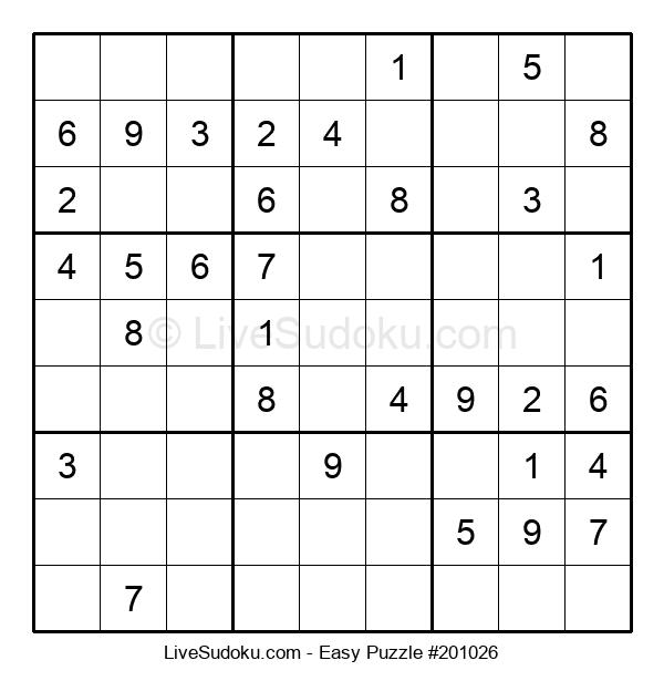 Beginners Puzzle #201026