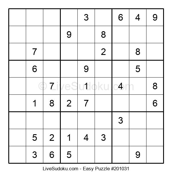 Beginners Puzzle #201031