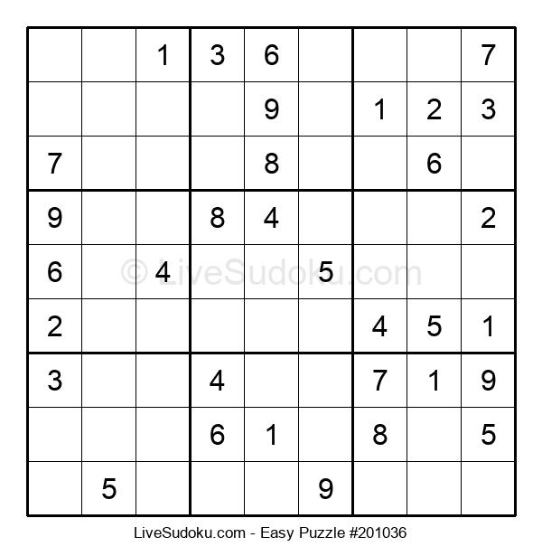 Beginners Puzzle #201036