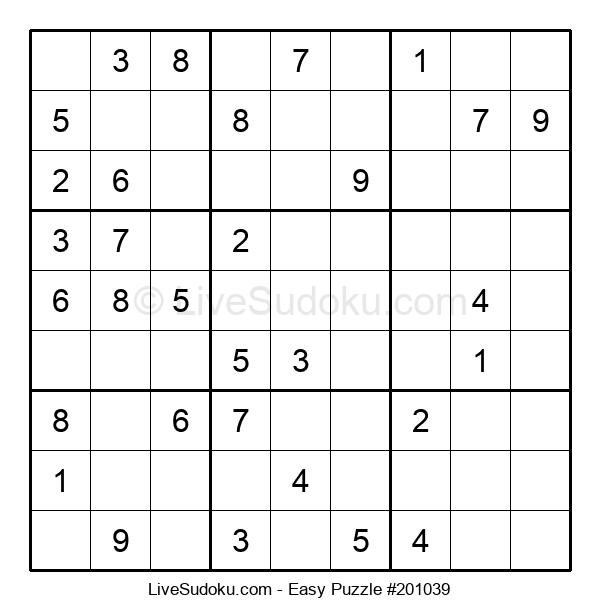 Beginners Puzzle #201039