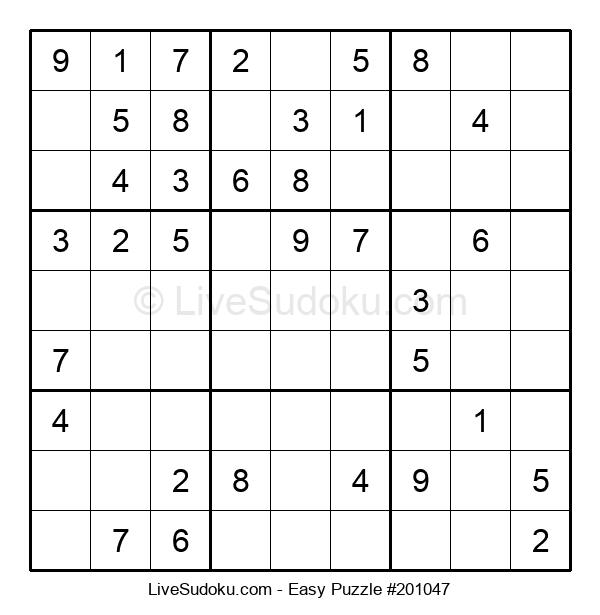 Beginners Puzzle #201047