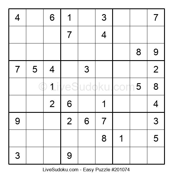 Beginners Puzzle #201074