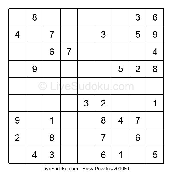 Beginners Puzzle #201080