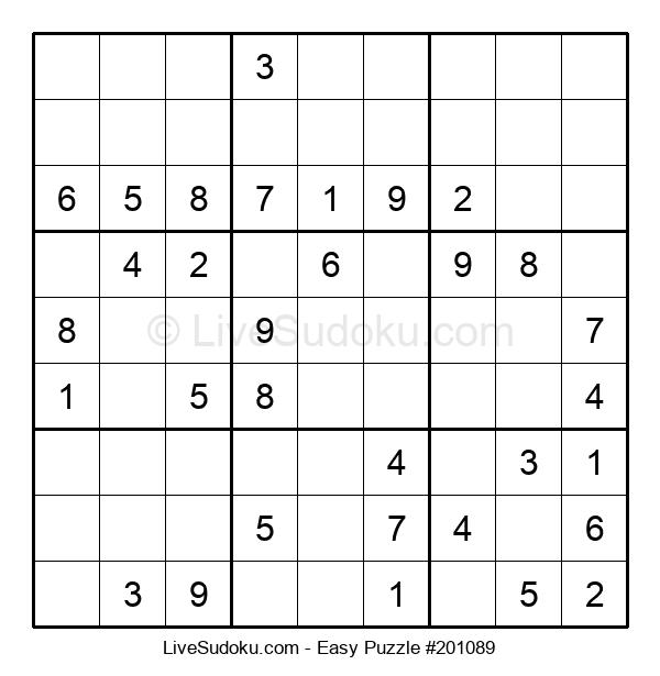 Beginners Puzzle #201089