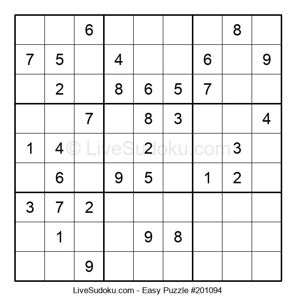 Beginners Puzzle #201094