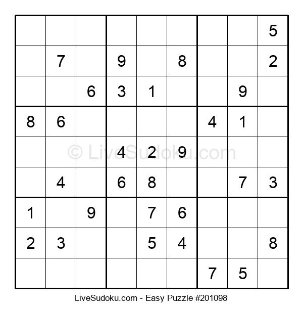 Beginners Puzzle #201098