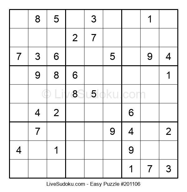 Beginners Puzzle #201106