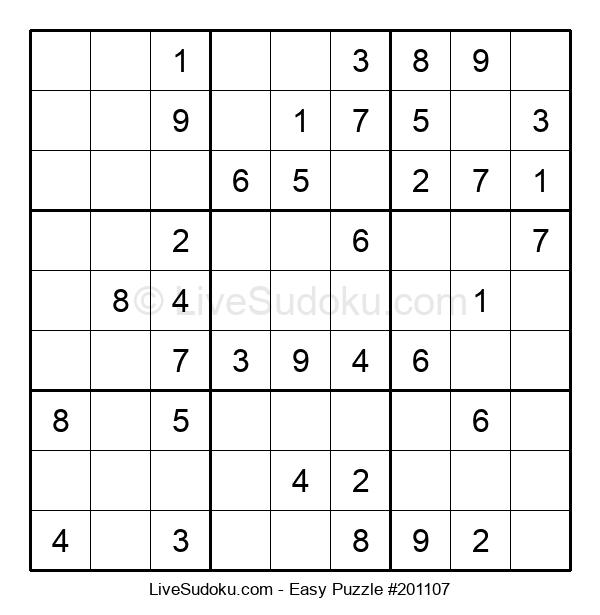 Beginners Puzzle #201107